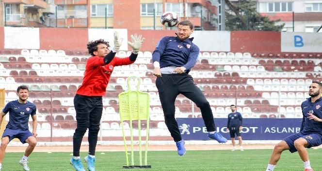 Hatayspor, BB Erzurumspor maçı hazırlıklarını sürdürüyor