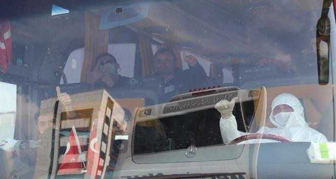 KKTC'den getirilen 143 kişi, İskenderun KYK yurtlarında karantinaya alındı