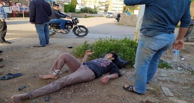 Reyhanlı'da trafik kazası: 2 yaralı