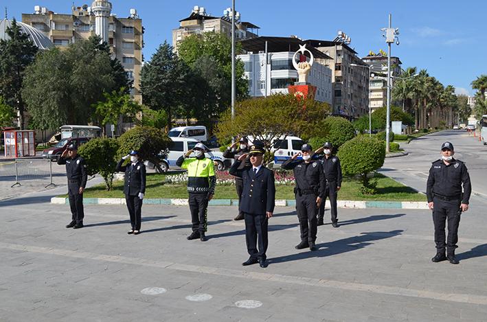 TÜRK POLİS TEŞKİLATININ KURULUŞ YILDÖNÜMÜ KUTLANDI