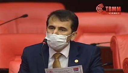 """TOPAL """"HATAY ESNAFI MAĞDUR OLMASIN"""""""