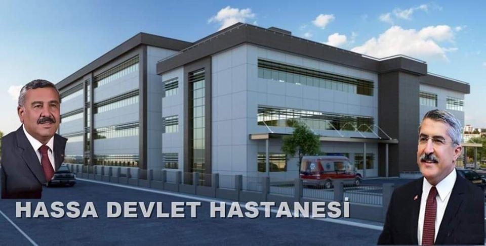 HASSA'YA 50 YATAKLI DEVLET HASTANESİ