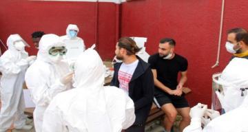 Hatayspor'a korona virüs testi yapıldı