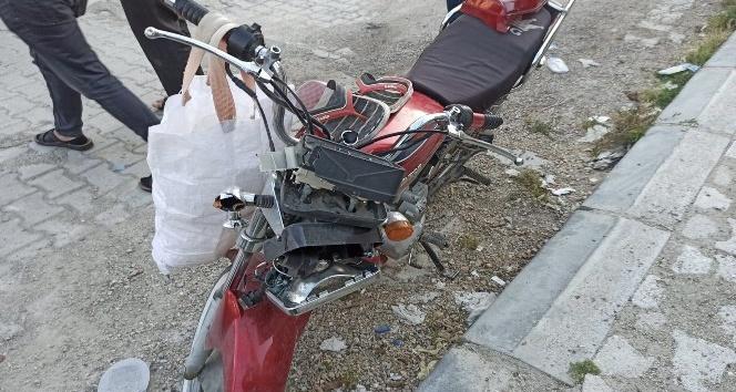 Samandağ'da trafik kazası 1 yaralı