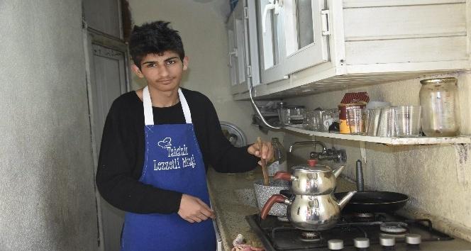 Köy evinde yaptığı yemeklerle takipçi sayısı 1 buçuk milyon oldu