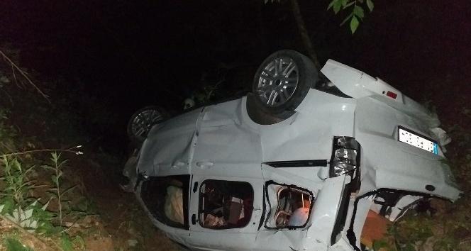 Hatay'da otomobil uçuruma yuvarlandı 3 ölü, 4 yaralı