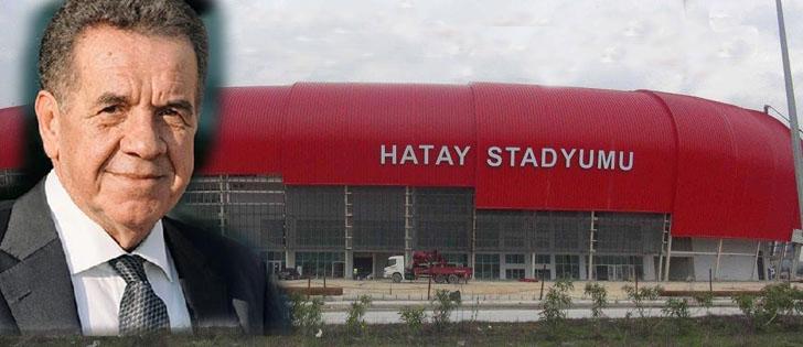 Yeni Stadın adı Recep Atakaş Stadyumu oldu