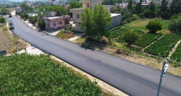 Hatay'da altyapısı tamamlanan bölgeler asfalt yola kavuşuyor