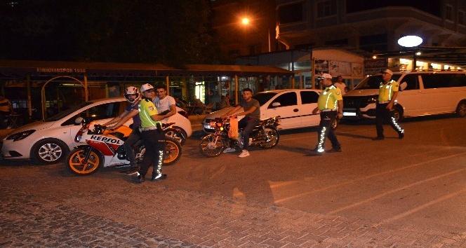Kırıkhan'da asayiş ve trafik uygulaması