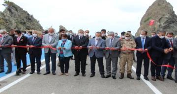 Samandağ-Arsuz yolu açıldı