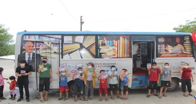 Gezici kütüphane çocuklar için yollarda