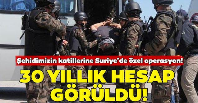 Kırıkhan'da 30 yıl önce teğmeni şehit eden zanlılar Afrin'de yakalandı