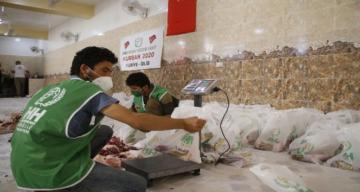 Suriyeli savaş mağdurları için 8 bin 234 hisse kurban