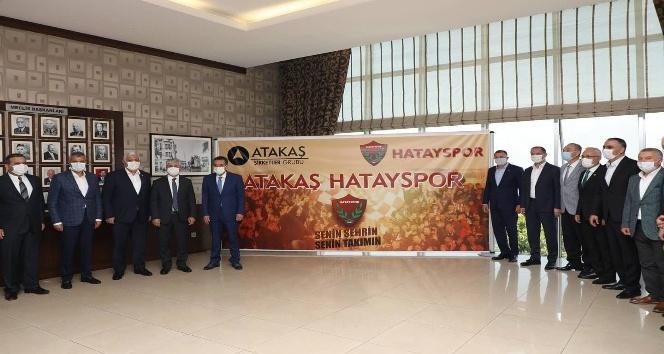 Hatayspor'un isim sponsoru Atakaş şirketler grubu oldu