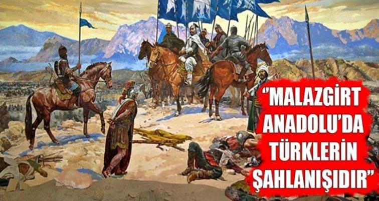 """YAVUZ """"MALAZGİRT ZAFERİ, GÖK KUBBE ALTINDA  TÜRKLERİN KIYAMETE KADAR SÜRECEK BİRLİKTELİĞİNİN SEMBOLÜDÜR"""""""