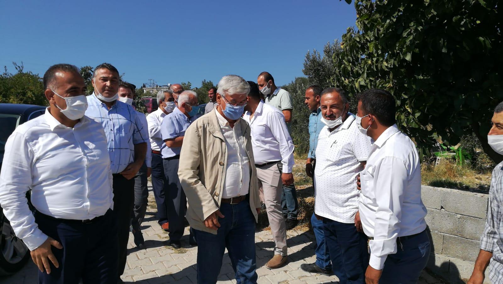Başkan Yeloğlu, Altınözü'nde ziyaretlerde bulundu