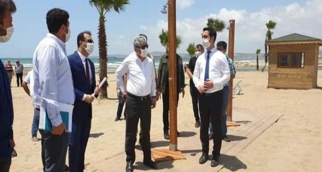 Burnaz Plajının işletmesi Erzin Belediyesi'ne verildi