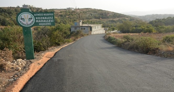 Altınözün'de  bir köy karantinaya alındı