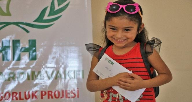 Suriye'de 9 bin 337 yetim çocuğa yardım