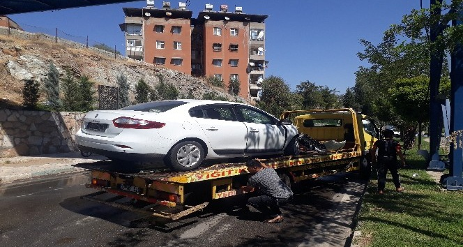 Kırıkhan'da trafik kazası: 1 yaralı