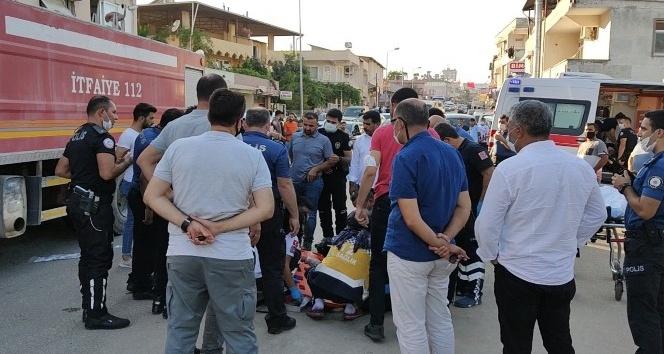 Motosikletli yunus polisler kaza yaptı: 2 yaralı