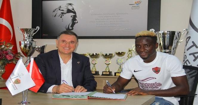 Atakaş Hatayspor, Babajide David Akintola'yı 1 yıllığına kiraladı