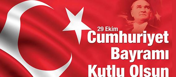 Vali Doğan'dan 29 Ekim Cumhuriyet Bayramı Mesajı
