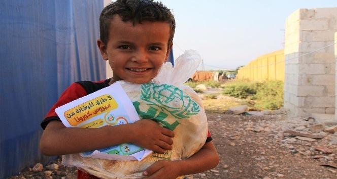 Suriye'de 9 ayda 112 milyon adet ekmek dağıtıldı
