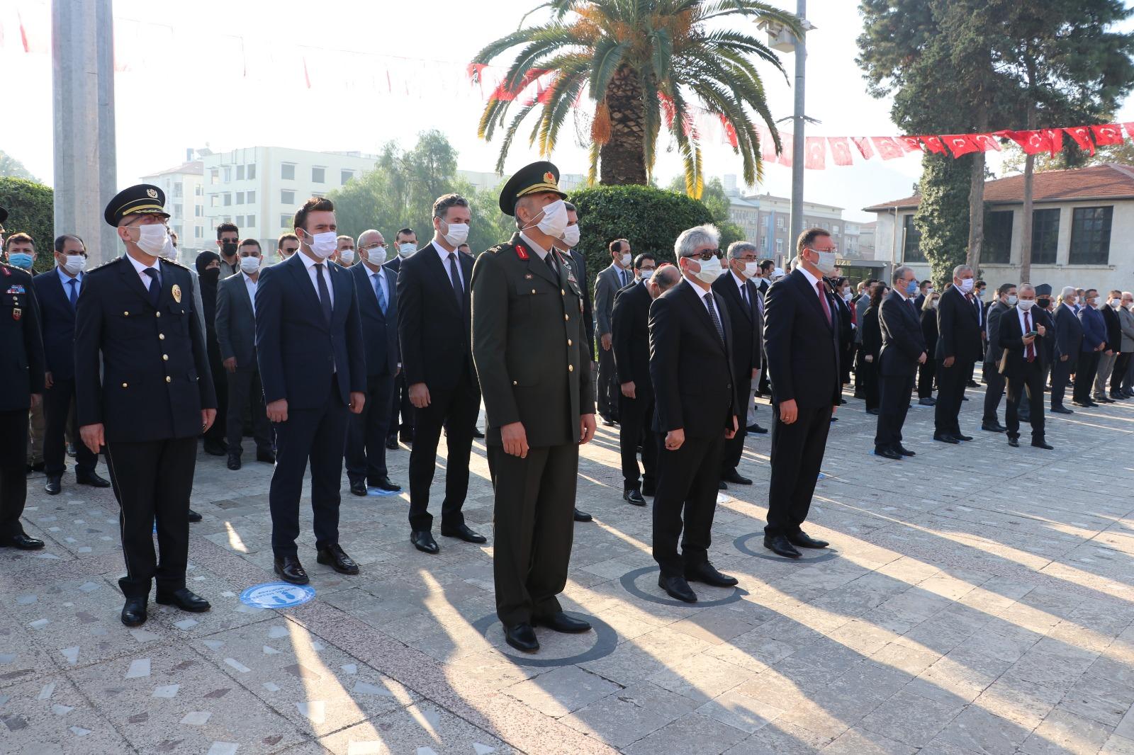 Atatürk Hatay'da törenle anıldı
