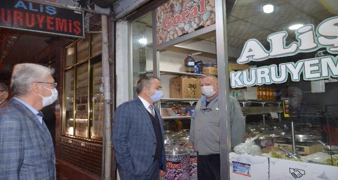 Kırıkhan'da  iş yerlerine denetim yapıldı