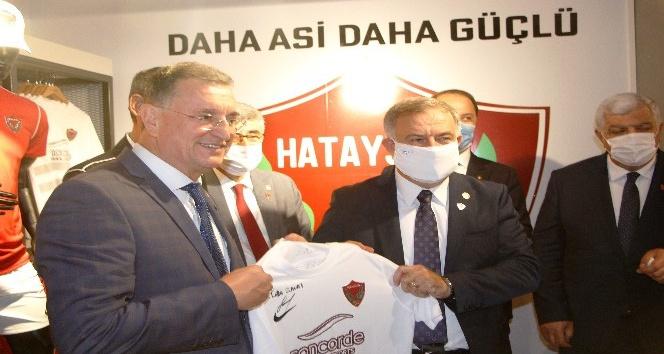 A. Hatayspor'un ikinci  mağazası açıldı
