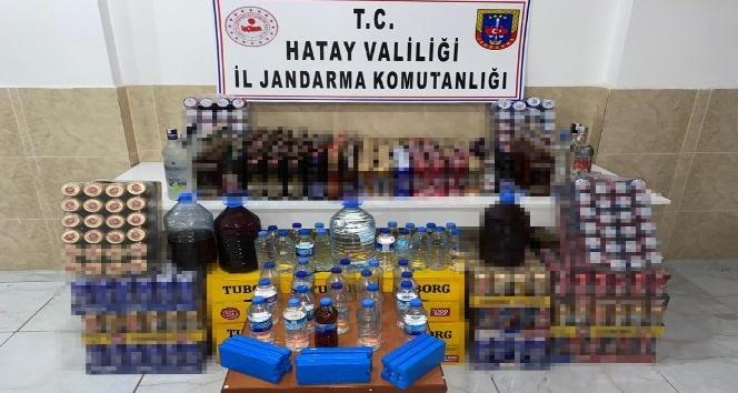 241 litre kaçak içki ele geçirildi