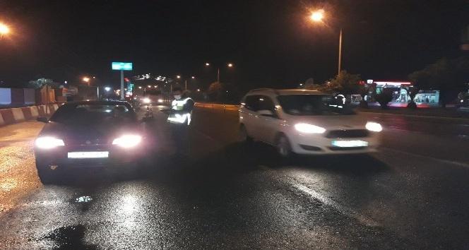 Dörtyol'da trafik ve maske denetimi