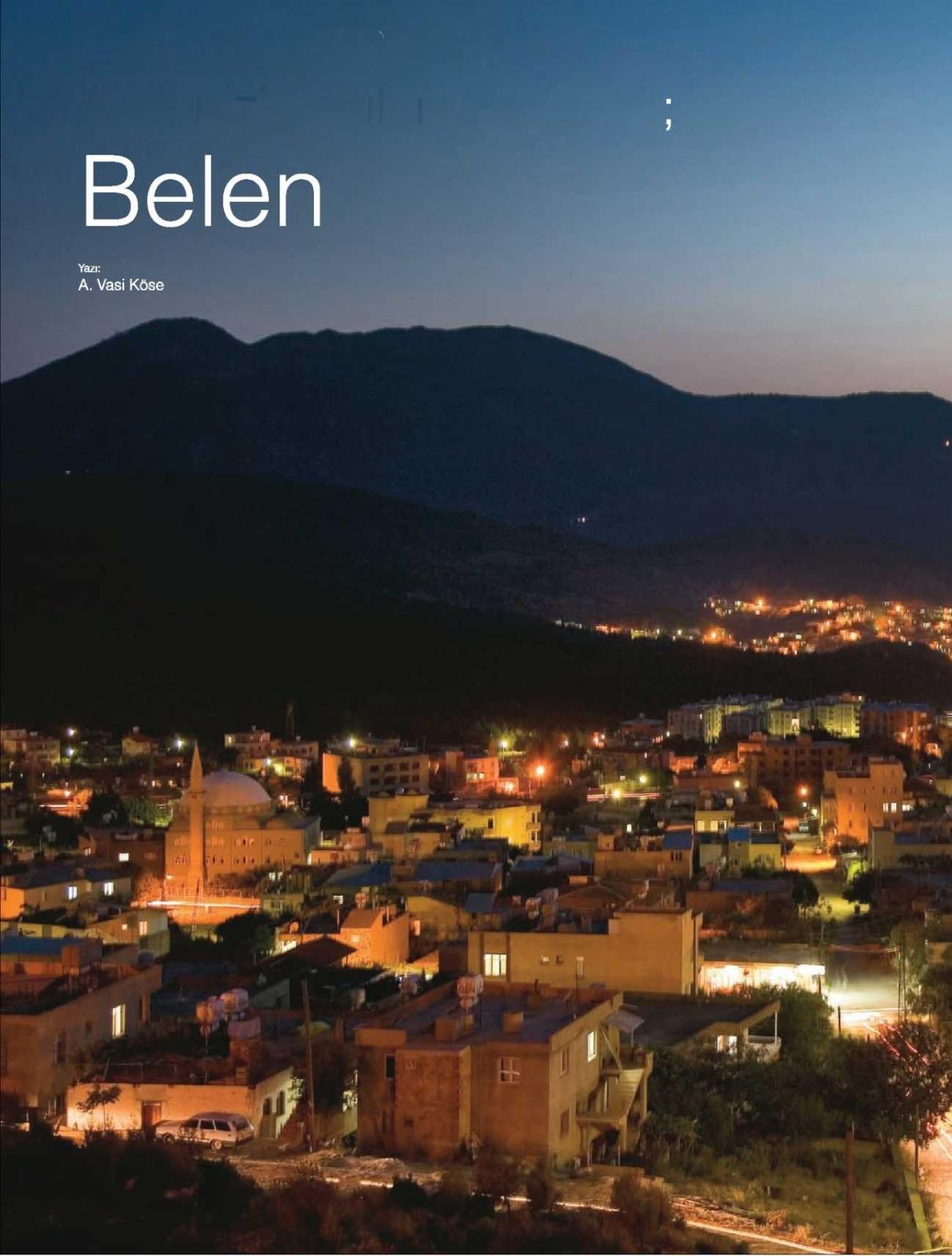 BELEN Akdeniz'e Açılan Kapı