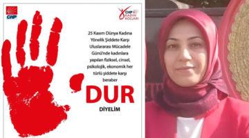 CHP'li Kışlıoğlu, kadına yönelik şiddete dikkat çekti