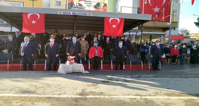 Erzin'in düşman işgalinden kurtuluşun 99. yılı kutlandı