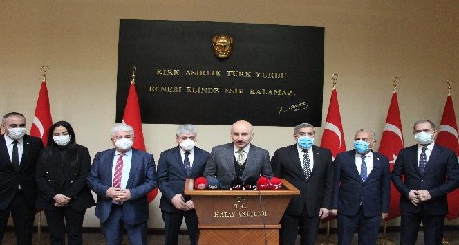 """Bakan Karaismailoğlu """"Türkiye, tüm mazlum milletlerin sırtını yasladığı dağ olmaya devam edecek"""""""