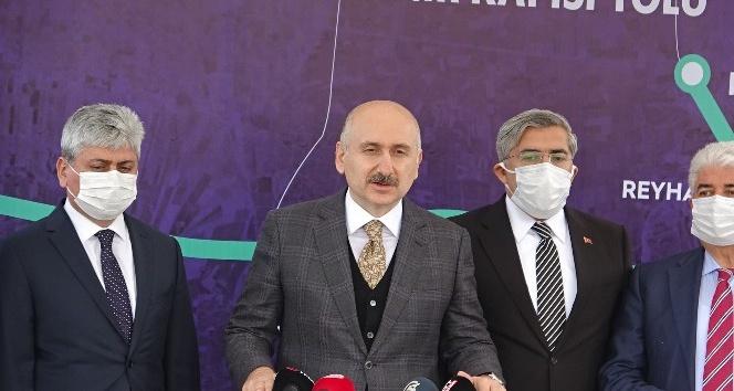 """Bakan Karaismailoğlu """"Projelerimiz üretimi, istihdamı, turizmi ve tarımı geliştiriyor"""""""