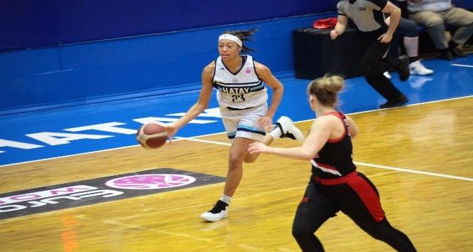 Basketbol FIBA Kadınlar Avrupa Kupası Hatay BŞB: 77  S. Moskova: 72