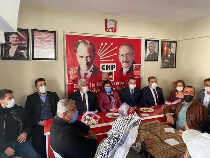 CHP MİLLETVEKİLLERİ KIRIKHAN'DA