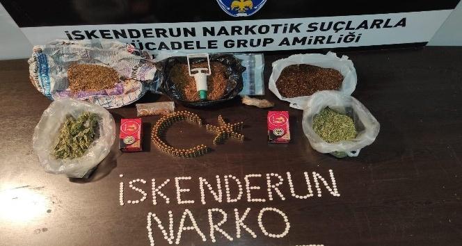 İskenderun'da uyuşturucu operasyonu: 5 gözaltı