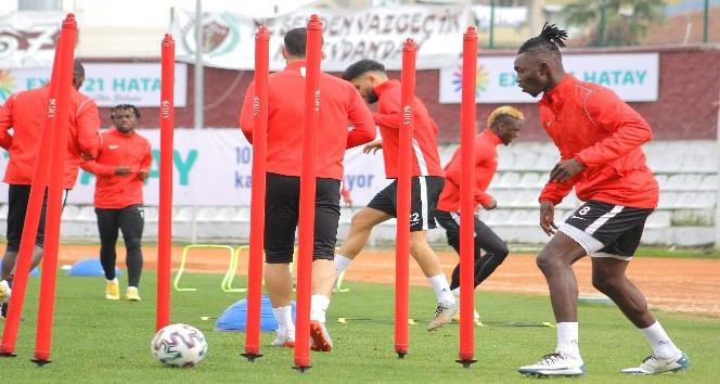 Hatayspor, Kasımpaşa maçının hazırlıklarını sürdürüyor