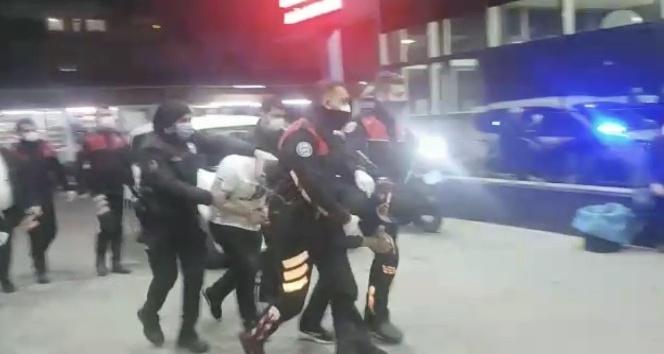 Hatay'da yağma suçundan 2 zanlı tutuklandı