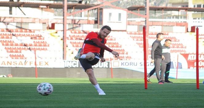 Hatayspor, BB Erzurumspor maçının hazırlıklarına başladı