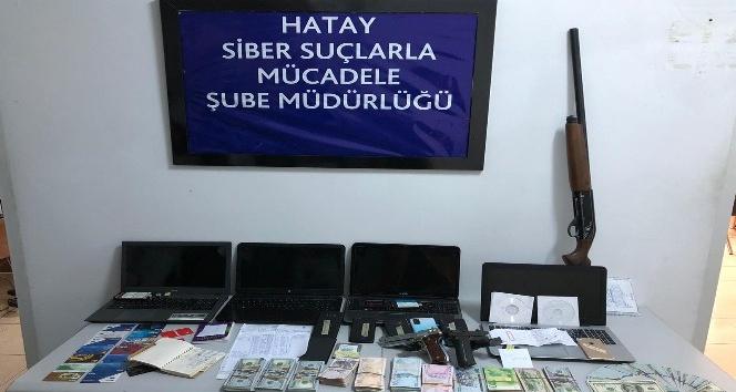 Hatay'da yasa dışı bahis operasyonu: 6 gözaltı