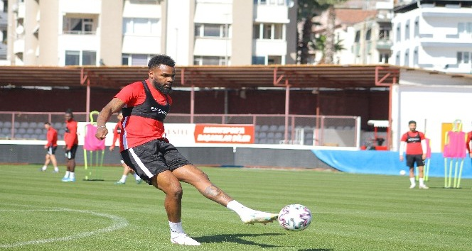 Hatayspor, MKE Ankaragücü maçının hazırlıklarını sürdürdü
