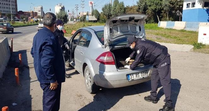 Payas'ta trafik ve asayiş uygulaması