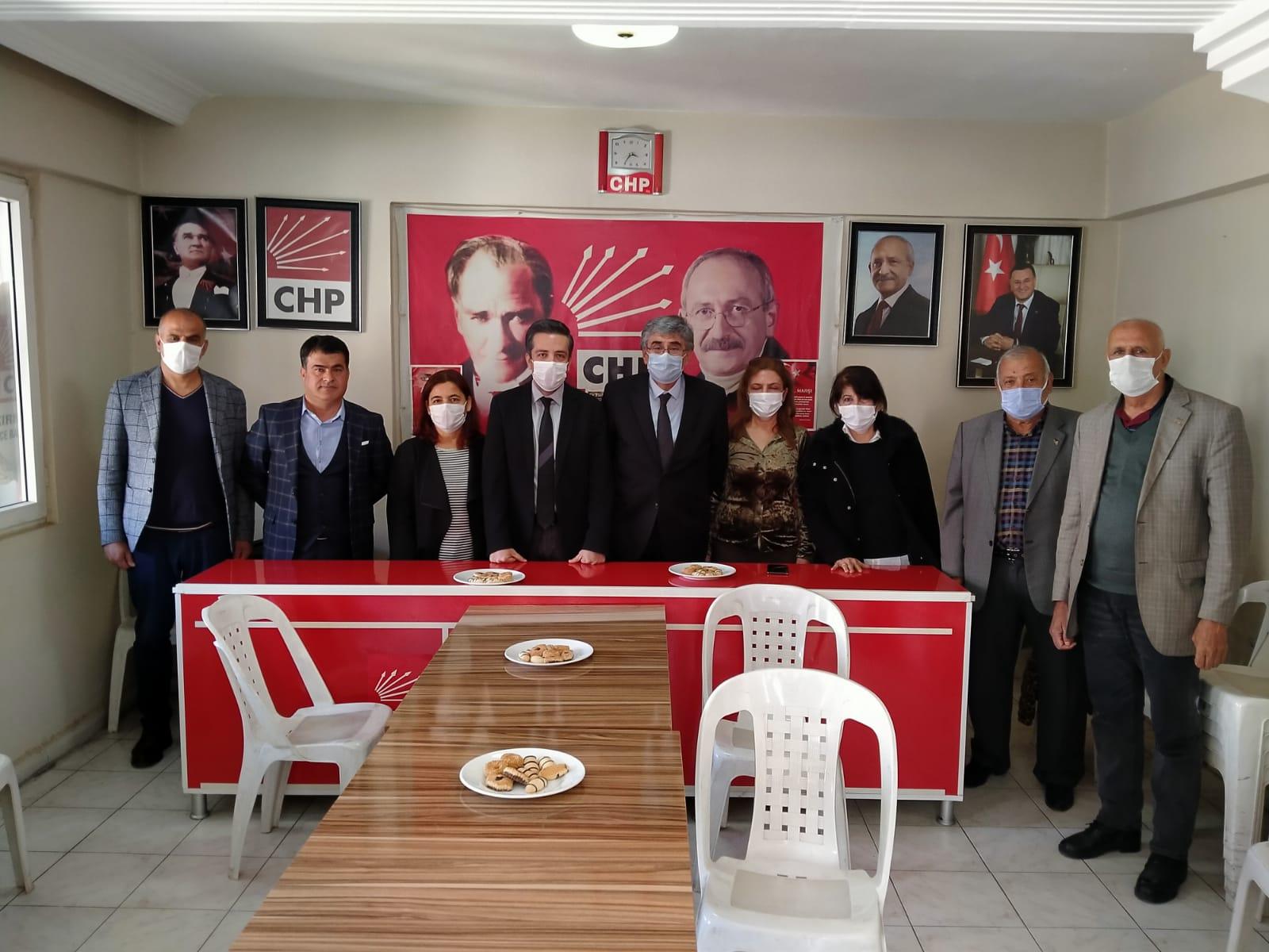 CHP İL BAŞKANI KIRIKHAN'DA