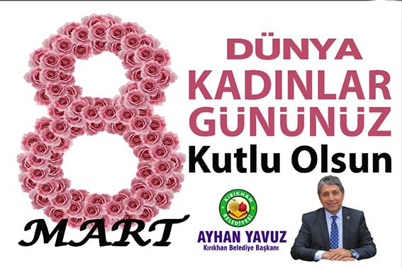 """YAVUZ """"KADINLARIMIZA SOSYAL, PSİKOLOJİK VE FİZİKİ ŞİDDET UYGULANMASINA BİNLERCE KEZ HAYIR"""""""