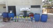 745 litre sahte içki ele geçirildi
